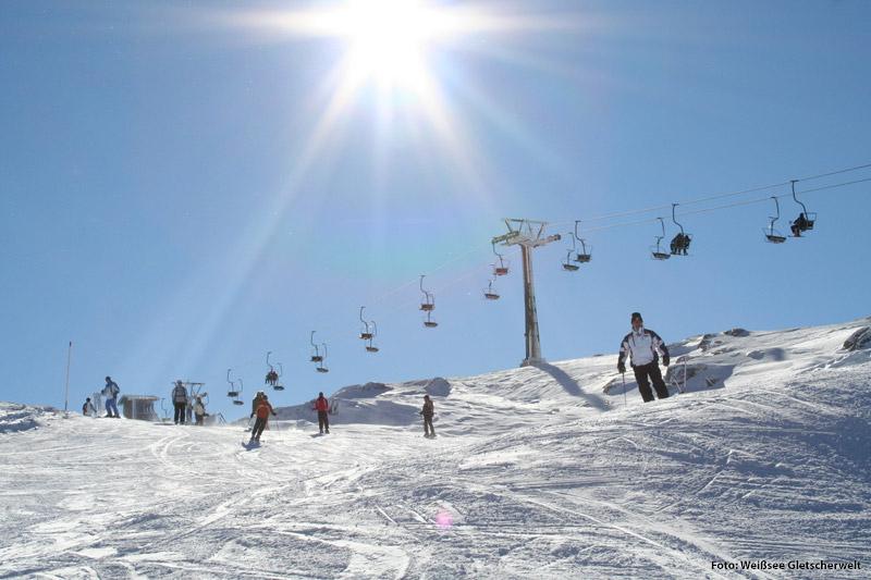 Skigebiet Weißsee Gletscherwelt