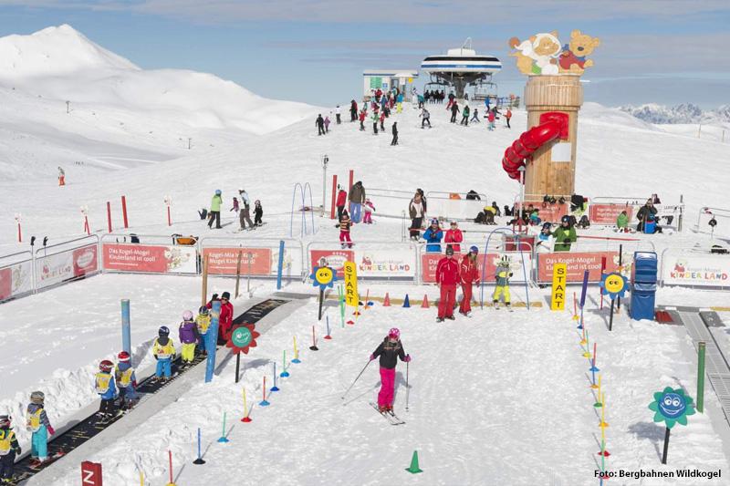 Kogel-Mogel Kinderland im Skigebiet Wildkogel-Arena