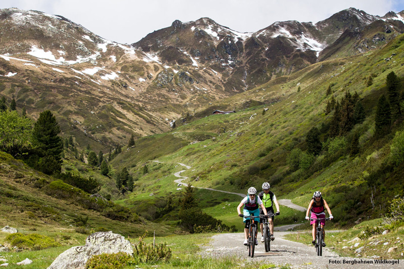 Mountainbiketouren in der Wildkogel-Arena