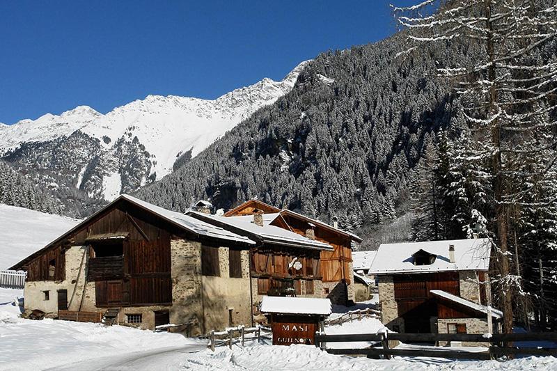 Winterurlaub im Chalet Alpenrose im Trentino