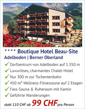 Vorteils Angebot Boutique Hotel Beau Site Alpenjoy De