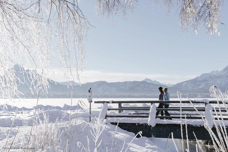 Erleben Sie die sanfte Seite des Allgäu-Winters in Füssen