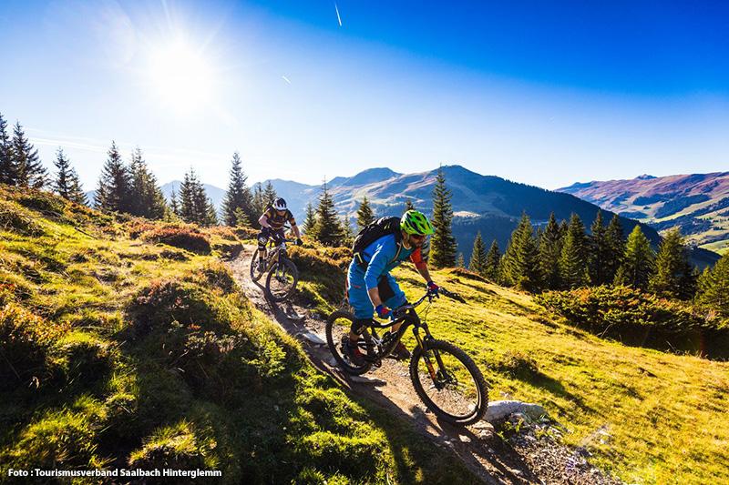 Saalbach hat sich vom Downhill-Mekka zum Eldorado für alle Mountainbiker entwickelt