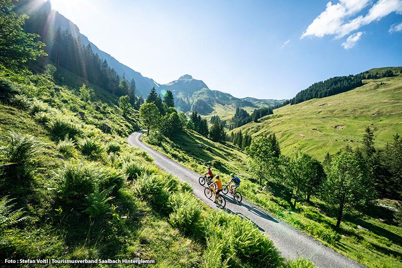 Besitzer einer JOKER-Card können ihr Bike 2x täglich kostenlos mit einer Bergbahn transportieren - die JOKER-Card erhält Ihr bei Buchung im Forellenhof gratis dazu