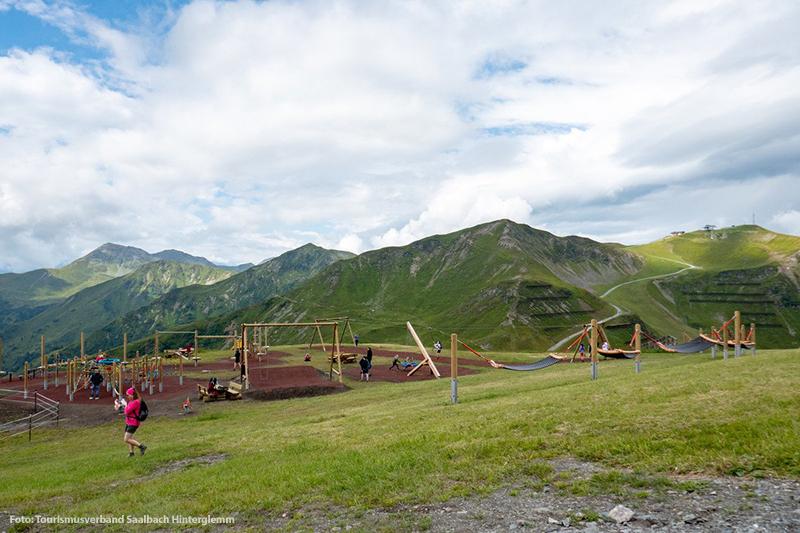 Gipfelspielplatz am Schattberg
