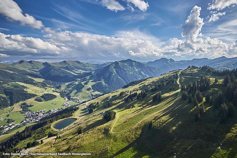 Landschaft Saalbach Hinterglemm