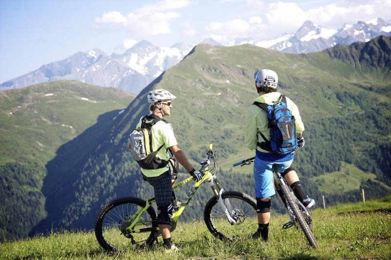 Mountainbiken im 400 km Bike-Circus