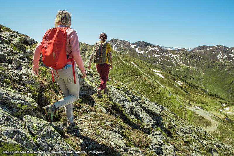 über 400 km Wanderwege - hinauf zum unvergesslichen Gipfelglück