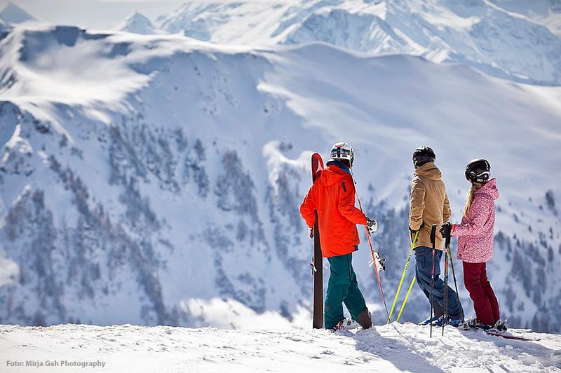 Skiing in Saalbach - Salzburgerland