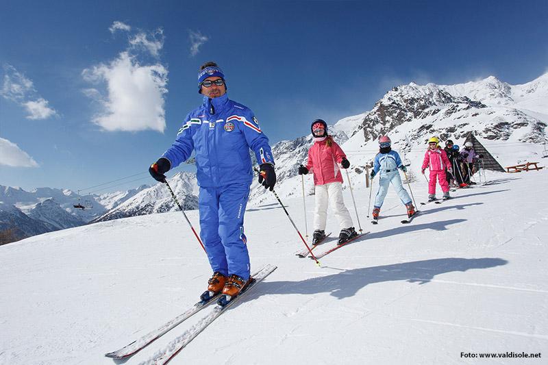 Skischule im Skigebiet Pejo 3000