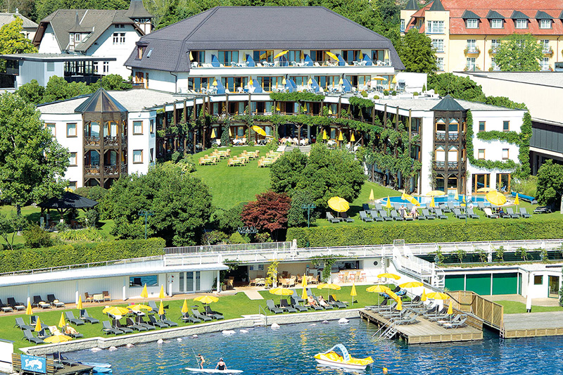 Golf- und Seehotel Engstler mitten in Velden direkt am Wörthersee