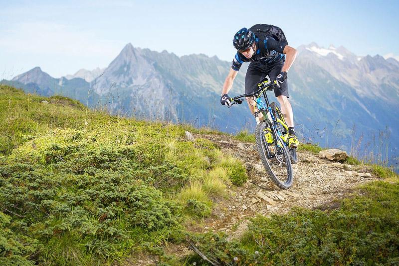 Mountainbiken am Fügenberg