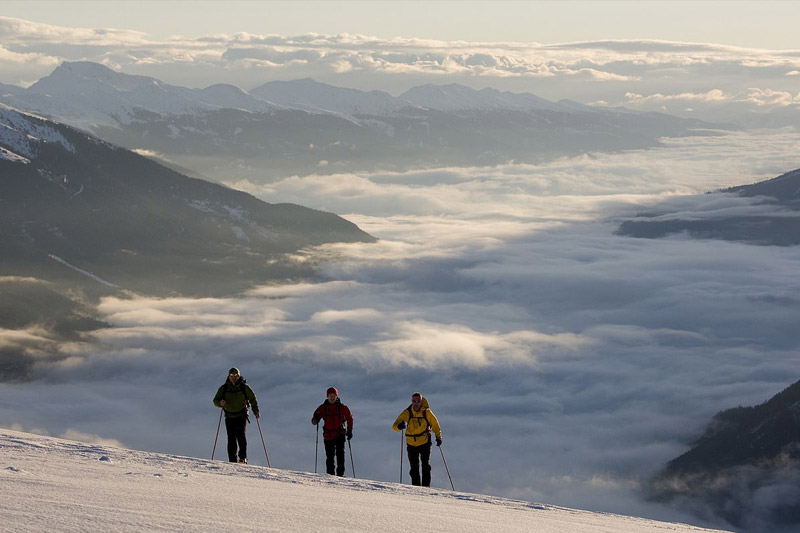 Schneeschuhwanderungen im Zillertal