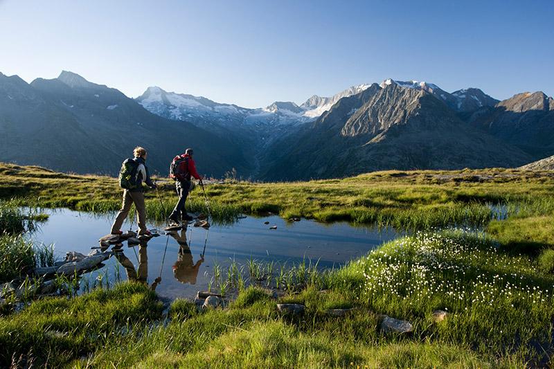 Wanderurlaub im Fügen im Zillertal