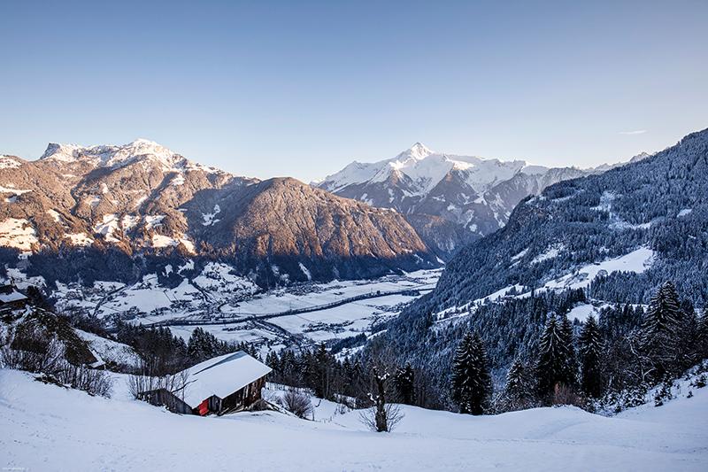Winterlandschaft Zillertal