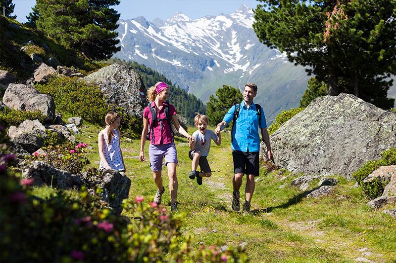 Familienwanderung in der Ferienregion Innsbruck