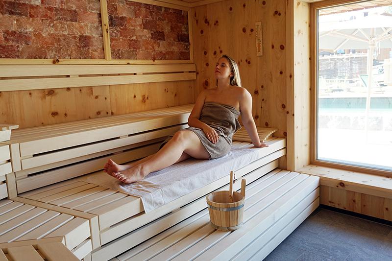 Zirben-Salz-Sauna