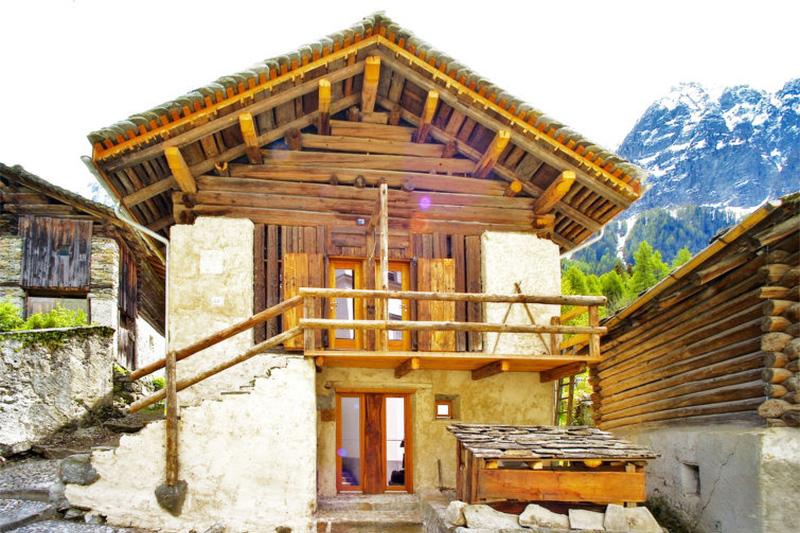 3-Sterne Ferienhaus Cà d'Alberto im Engadin