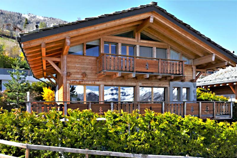 4-Sterne Ferienhaus Rêves des Alpes im Wallis