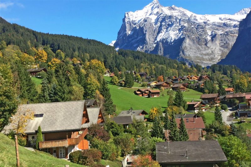 Beispiel Ferienwohnungen Wychel im Berner Oberland