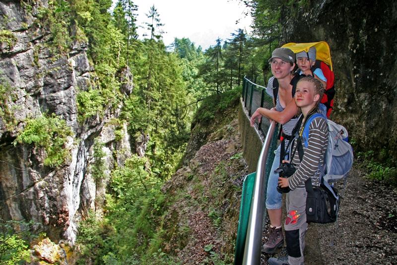 Wanderung durch die Gießenbachklamm