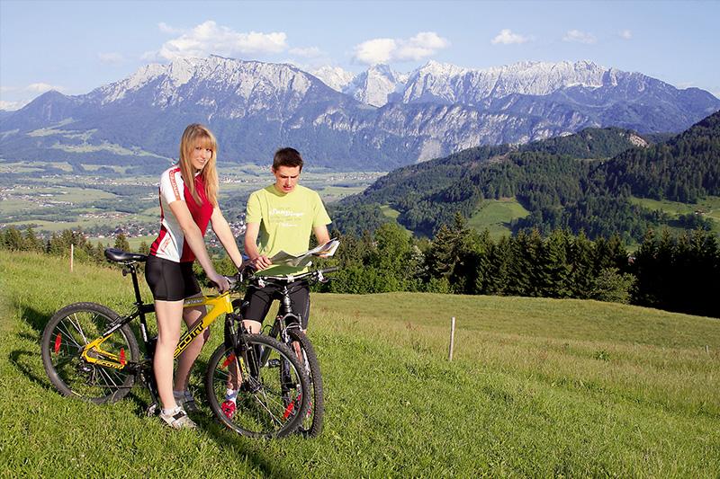 Mountainbiken im Kaiser-Reich