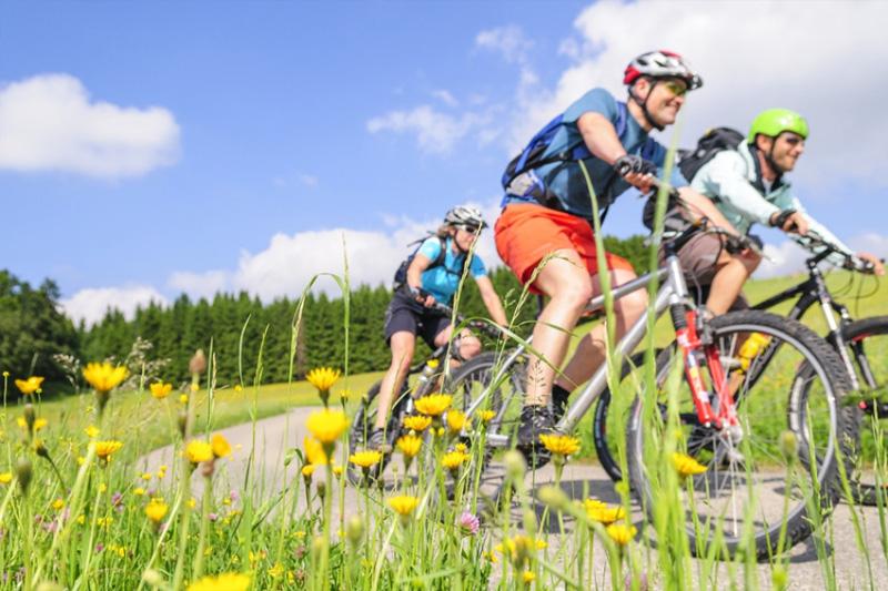 Radfahren und Mountainbiken in Kiefersfelden