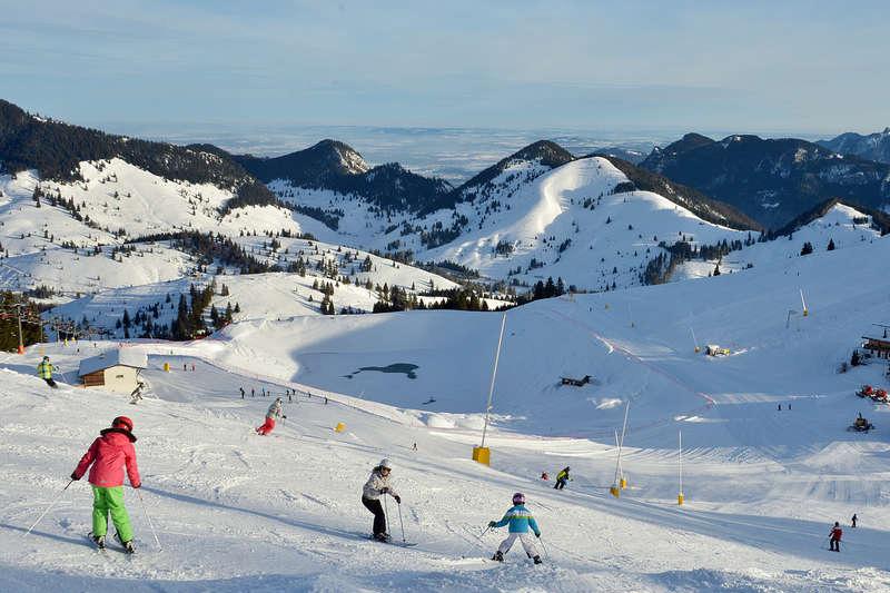 Skiparadies Sudelfeld (20 km von Kiefersfelden)