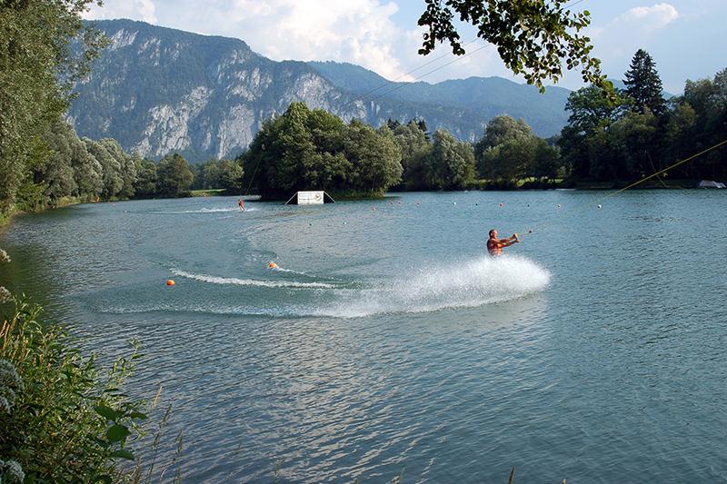 Wasserski auf dem Hödenauer See