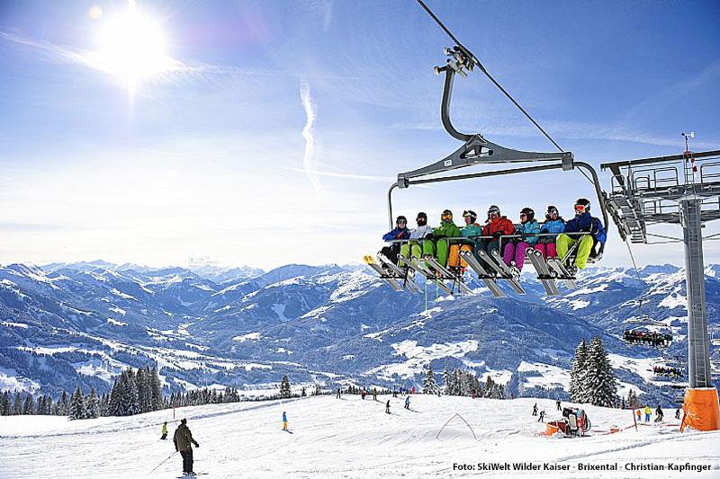 Skifahren Skiwelt Wilder Kaiser - Brixental