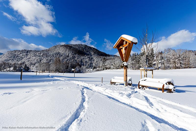 Winterwanderungen in Kiefersfelden