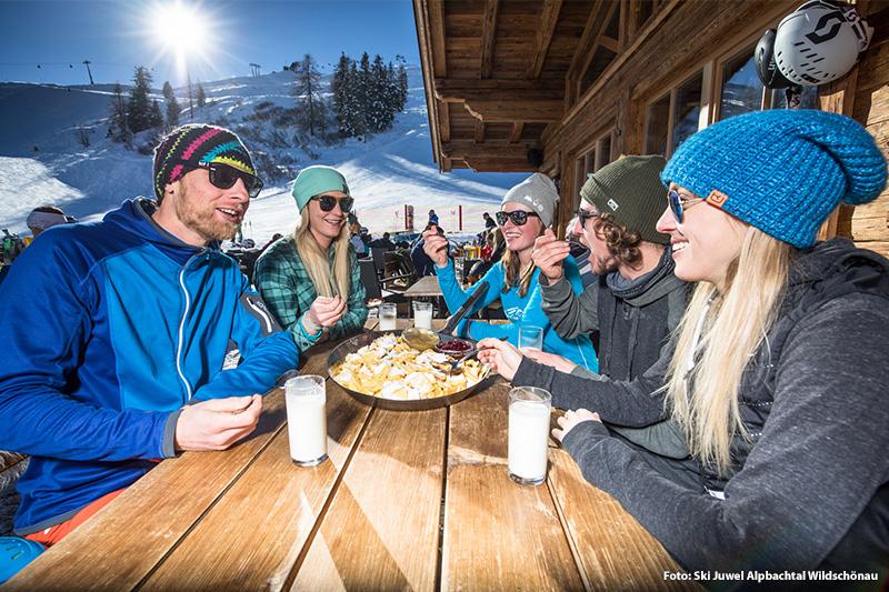 Apres ski Spaß in einer von 25 urigen Hütten