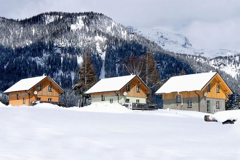 Winterurlaub in Stoffis Hüttendorf in Tauplitz (Salzkammergut)