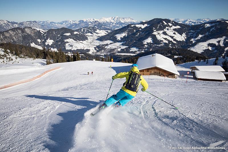 Skifahren im Skijuwel Alpbachtal-Wildschönau