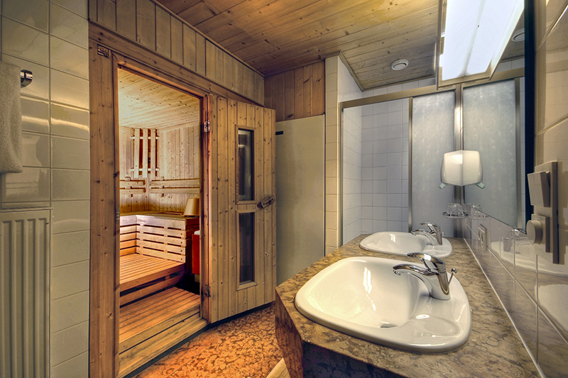 Appartements mit Sauna