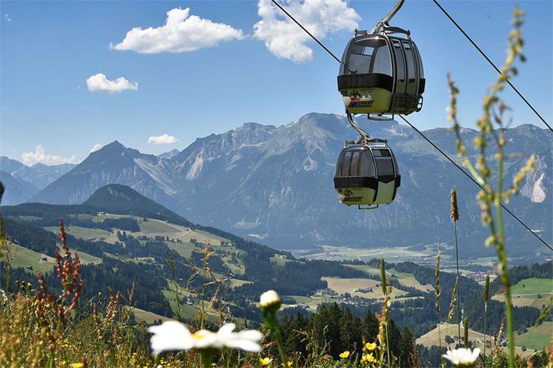 Bergbahnen mit der Sommercard inklusive