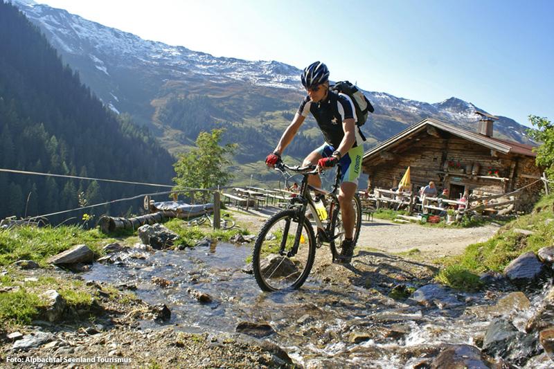 Mountainbiken im Alpbachtal