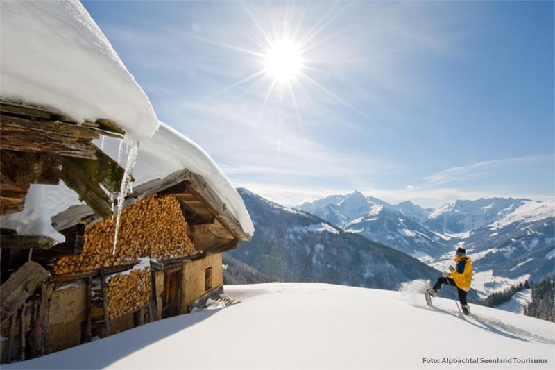 Schneeschuhtour durch Inneralpbach
