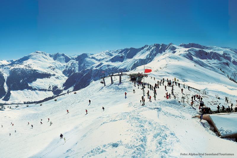 Skifahren am Wiedersbergerhorn