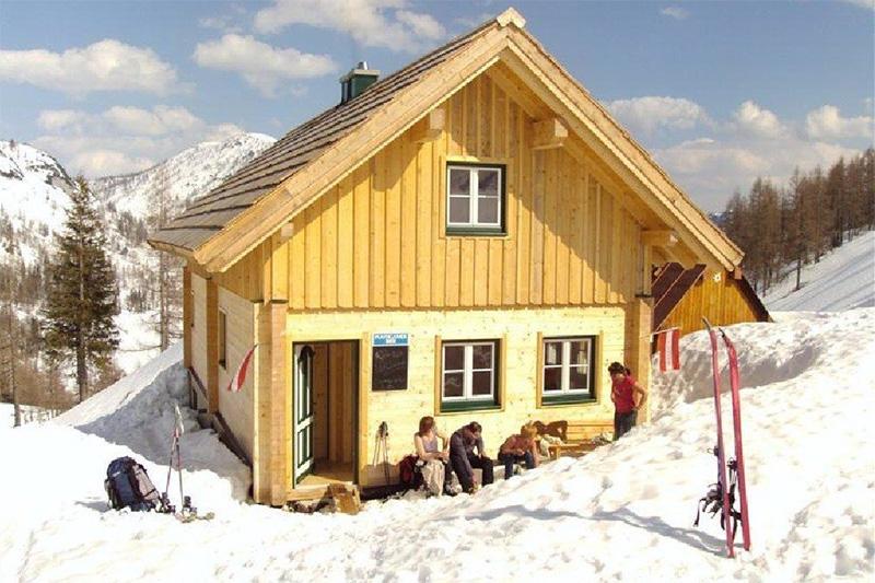 Almrauschhütte am Steirersee