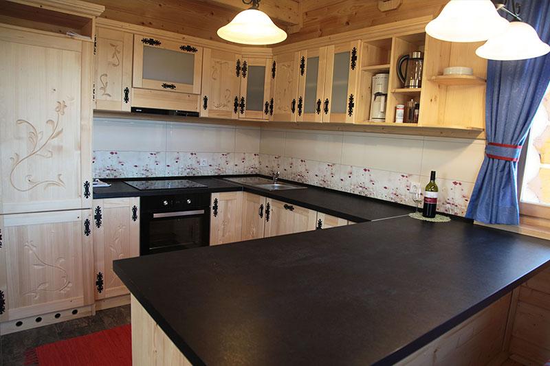 Küche Hütte Gamsröserl