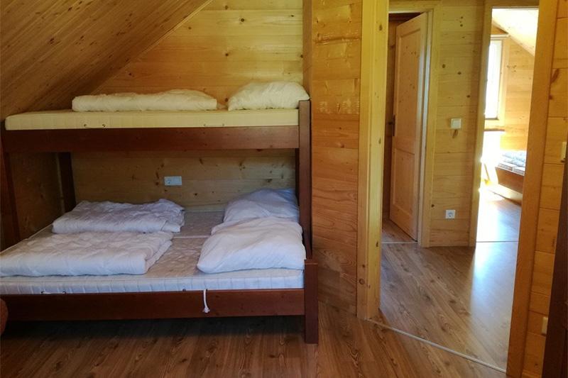 Mehrbettzimmer Hütte Hiatamadl