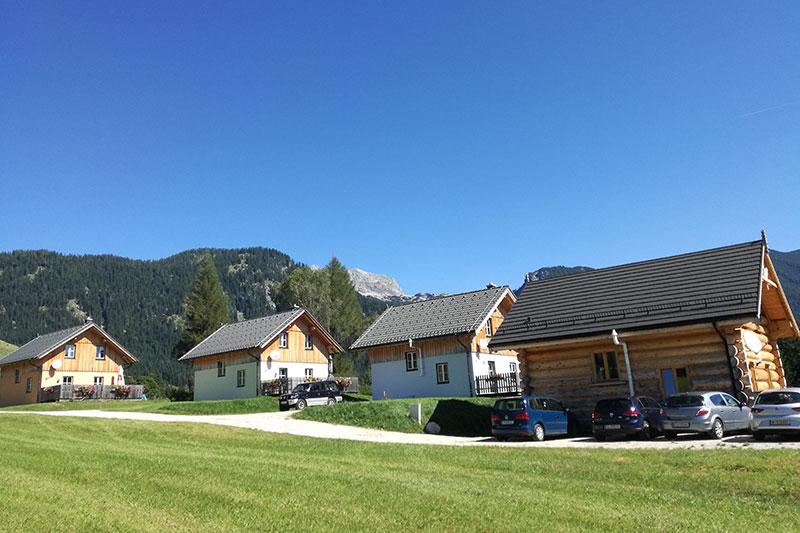 Sommerurlaub in Stoffis Hüttendorf in Tauplitz (Salzkammergut)
