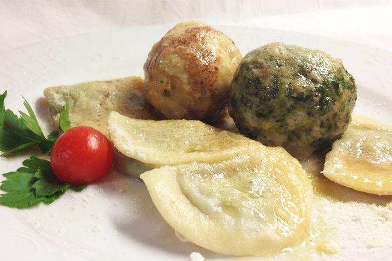 Südtiroler Gerichte und Hausmannskost