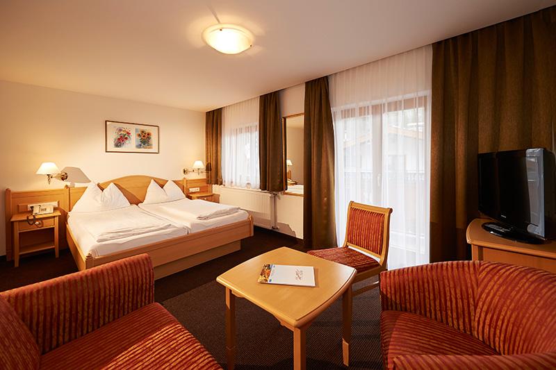 Komfortzimmer für 1 - 4 Personen