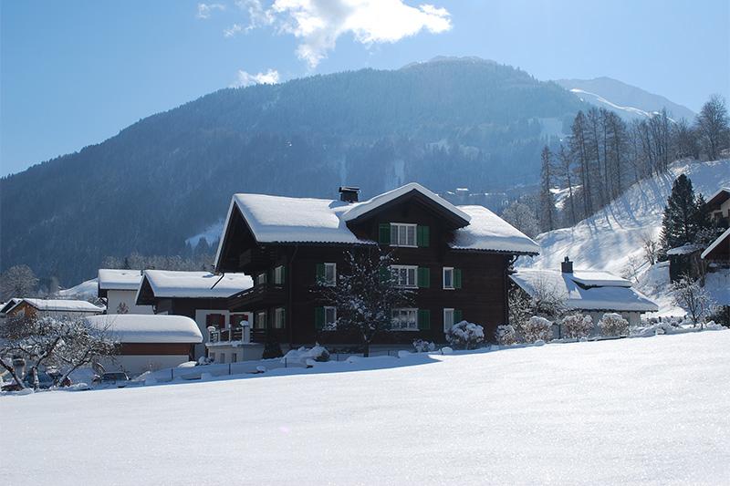 Winterurlaub im Ferienhaus Tschagguns im Montafon