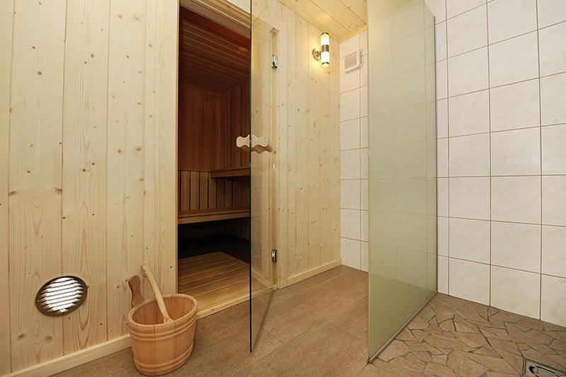 Sauna im Ferienhaus Tschagguns (Wohnung 1)