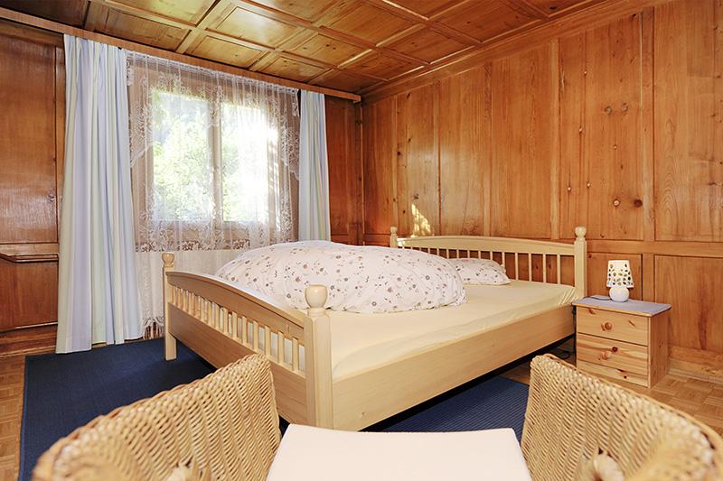 Schlafzimmer im Ferienhaus Tschagguns (Wohnung 1)