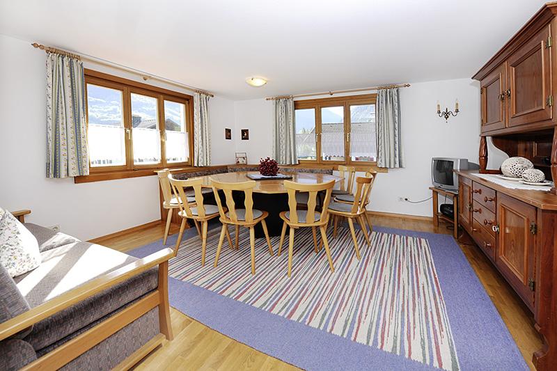 Wohnraum im Ferienhaus Tschagguns (Wohnung 2)