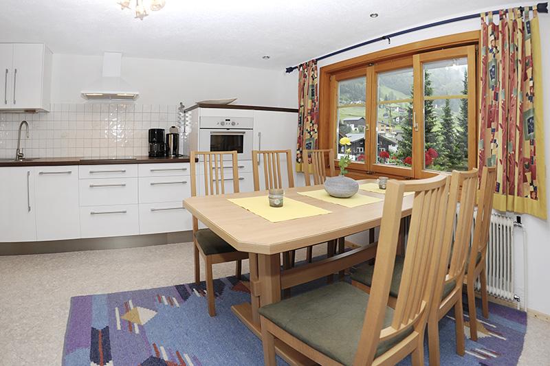 Wohnküche im Haus Sieglinde